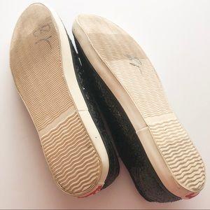 UNIONBAY Shoes - Union Bay Black Glitter Slip On Sneaker • Size 7.5